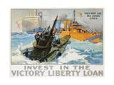 L.a. Shafer - Invest in the Victory Liberty Loan Poster Digitálně vytištěná reprodukce