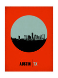 Austin Circle Poster 2 Prints by  NaxArt
