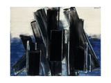 Peinture, 17 Juin 1958, 1958 Giclee Print by Pierre Soulages
