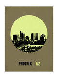 Phoenix Circle Poster 1 Print by  NaxArt