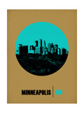 Minneapolis Circle Poster 1 Posters by  NaxArt