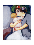 My Child and Her Mother, 1908 Giclee Print by Kees van Dongen