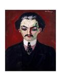Portrait of Daniel Henry Kahnweiler (1884-1979) 1907 Giclee Print by Kees van Dongen