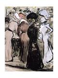 Il Faut Vivre Pourtant Giclee Print by Kees van Dongen