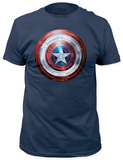 Captain America: The Winter Soldier - Winter Shield (slim fit) T-shirts