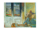 The French Windows Or, Morning in Le Cannet, 1933 Giclee Print by Pierre Bonnard