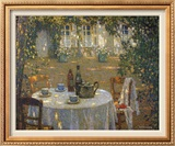 Table in the Sun Posters by Henri Le Sidaner
