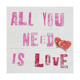 All You Need Is Love Giclee Print by Howard Shooter