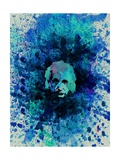 Einstein Watercolor 2 Prints by Anna Malkin