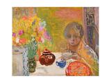 Le Dejeuner, 1932 Giclée-Druck von Pierre Bonnard