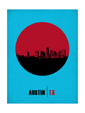 Austin Circle Poster 1 Posters by  NaxArt