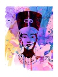 Nefertiti Watercolor Prints by Anna Malkin