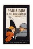 Parisiana Le Roi Des Cinemas Poster Giclee Print by R. Pichon