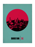 Houston Circle Poster 2 Prints by  NaxArt