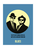 Blues Poster 2 Print by Anna Malkin