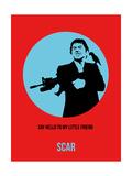 Scar Poster 1 Posters af Anna Malkin