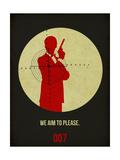James Poster Black 2 Plakater af Anna Malkin