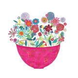 Pink Bowl Giclee Print by Kim Anderson