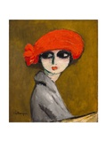 The Corn Poppy, C.1919 Impression giclée par Kees van Dongen