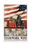 Teamwork Wins Poster Giclee Print by Hibberd V.B. Kline