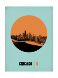 Chicago Circle Poster 1 Posters by  NaxArt