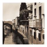 Ponti di Venezia No. 5 Poster von Alan Blaustein