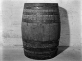 1933 Single Wooden Whisky Barrel Photographic Print by H. Armstrong Roberts