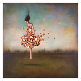 L'infinitude en fleur Affiche par Duy Huynh