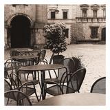 Caffè, Toscana Posters by Alan Blaustein
