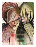 Two Betties Print by Lani Imre
