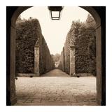 Giardini Portico Posters par Alan Blaustein