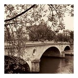 Pont Louis-Philippe, Paris Poster par Alan Blaustein