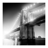 Brooklyn Bridge Print by Adam Garelick
