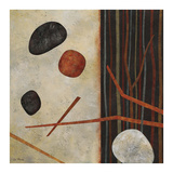 Sticks and Stones II Kunst af Glenys Porter