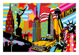 New York Taxi I Posters af Lobo
