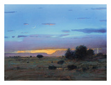 High Mesa Rainstorm Prints by Tom Perkinson