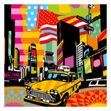 New York Taxi II Posters af Lobo