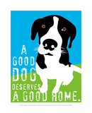 A Good Dog Art by Ginger Oliphant