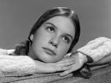 1960s Portrait of Pensive Young Teenage Girl Studio Photographic Print by H. Armstrong Roberts