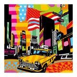 New York Taxi II Arte di  Lobo