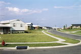 Sterile Suburban Housing Development Split Level Homes Residential Section of Dayton Oh Photographic Print by D. Corson
