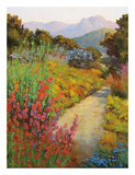 Garden Path Print by Ellie Freudenstein