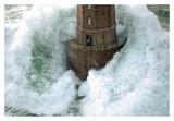 Phares dans la Tempête – La Jument Posters par Jean Guichard