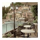 Porto Caffè, Italy Art by Alan Blaustein
