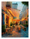Café Van Gogh 2008, Arles France Prints by Haixia Liu