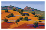 Juniper Hills Prints by Mary Silverwood