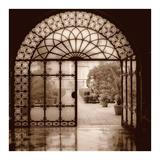 Courtyard in Venezia Kunstdrucke von Alan Blaustein