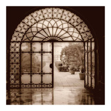 Courtyard in Venezia Prints by Alan Blaustein