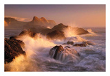 Ocean's Fury Print by Marc Adamus