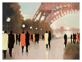 Paris Remembered Print by Lorraine Christie